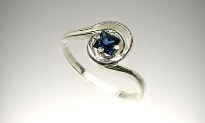 "Antique 19thC 1/3ct Sapphire Ancient Persia ""Gem of Heaven"" Medical Treatment 2"