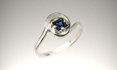 "Antique 19thC 1/3ct Sapphire Ancient Persia ""Gem of Heaven"" Medical Treatment 4"