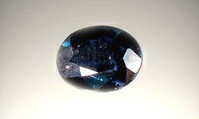 19thC Antique ¾ct Sapphire Gemstone of Ancient Greece Cronus God of Abundance 2