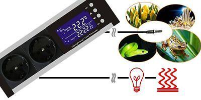 Thermostat Temperaturregler Digital Zeitschaltuhr Alarm Heiz-/kühlsteuerung Tx1 3