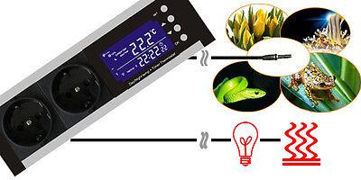 Thermostat Regler Zeitschaltuhr Digital Alarm Heizen/kühlen Tag/nachtbetrieb Tx2 3