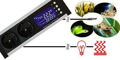 Digitaler Thermostat Dimmer Mit Timer Alarm Heizen/kühlen Tag-/nachtbetrieb Tx3 3