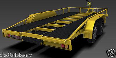 Trailer Plans    -    2500kg FLATBED CAR TRAILER PLANS    -    PRINTED HARDCOPY 9