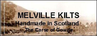 KILT FLY PLAID MODERN MACQUEEN TARTAN FRINGED HANDMADE IN SCOTLAND FOR KILT NEW