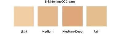 Brightening CC Cream Complexion Corrector SPF 20 Ultra Light/Oil Free - Light