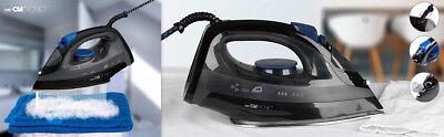 Plancha de vapor vertical para ropa suela acero inox antigoteo 7 funciones 1800W 11
