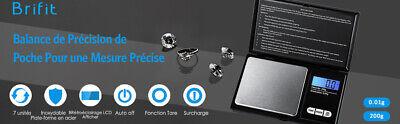 Balance De Poche Precision Electronique Cuisine Bijoux Fonction Tare Ecran LCD 8
