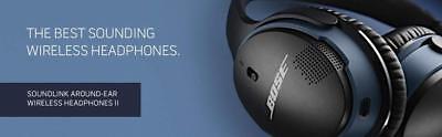 Bose SoundLink II Around-Ear Wireless Headphones - HD - NFC - Black | NEW SEALED 8