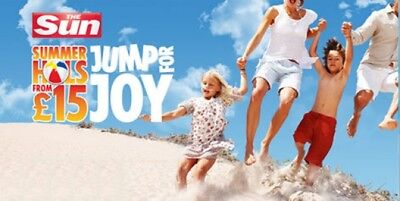 💖 The Sun Holidays Booking Codes £9.50 10 Token Code Words 💖 Fast Response 💖
