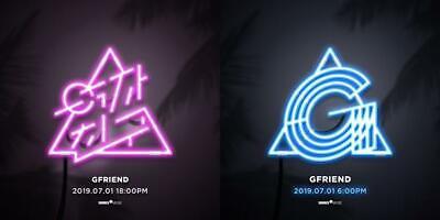 Gfriend-[Fever Season]7th Mini Album CD+Poster+Book+Card+Sticker+Pre-Order+Gift 12