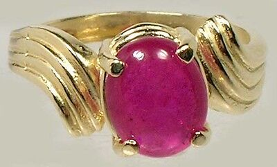 18thC Antique Handcut 3ct Ruby Ancient Etruscan Roman Gem God of War Mars Ares 4