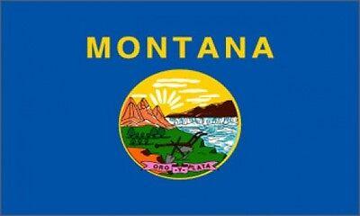 Montana State Flag 3x5 3 X 5 Feet New Polyester