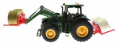 Doppel Ballengabel für Siku Control 32 Traktoren mit Frontlader