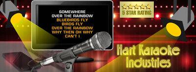 2 Terabyte Hard Drive Karaoke Song Collection Licensed - Lifetime Updates! 6