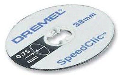 Dremel SC409 S409 EZ SpeedClic Thin Cutting Wheels 5-Pack 2