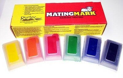 MATINGMARK RAM MILD CRAYONS Use w//Ram//Buck Harnesses When Temp is 65-85 Yellow