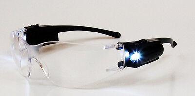 2e9344b68801 3 of 5 Lab Medical Nurse Doctor EMT Eyewear Clear Safety Eye Protective  Goggles LED!