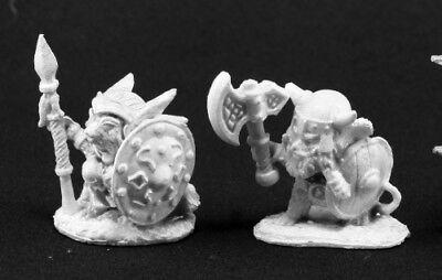 Warrior Miniature by Reaper Miniatures RPR 03529 Mouslings 3 Archer Wizard