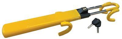 SW Heavy Duty Car Van Steering Wheel Lock High Security Anti Theft Twin Bar Hook 2