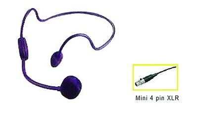 b4b2d00a91a ... Noise Cancelling Headset Mic TA4F for Shure Wireless Transmitter RoHs  Condenser 2