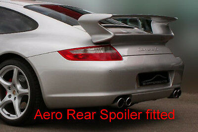 GT3 Areo Kit fixed rear spoiler SuperSoftPRO Indoor Car Cover Porsche 997 911