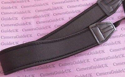 Neoprene Neck Strap for All Nikon Canon Sony Fuji Pentax Digital SLR DSLR Camera