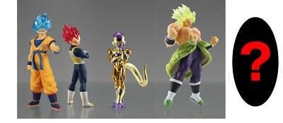 Bandai Dragon ball Super Movie Broly HG High Grade Real Figure 01 Set of 5 F//S