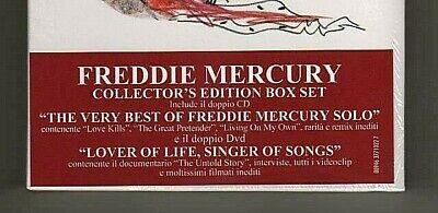 Freddie Mercury – Lover Of Life, Singer Of Songs- 2CD+2DVD 094637710227 -SEALED 4