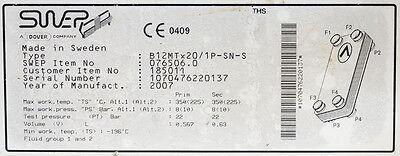 Swep B12MTx20/1P-SN-S Heat Exchanger 2