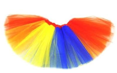 Tütü Tutu Ballettrock Tüllrock Petticoat Ballettkleid Glitzer Rock 3 - 5 Lagen 4
