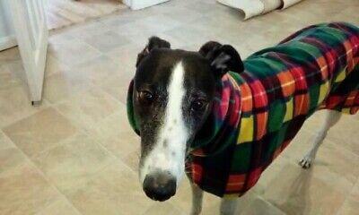 """dog Snood jumper fleece house coat italian whippet lurcher greyhound 30""""Buchanan 2"""