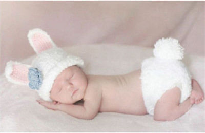 Newborn Baby Girl Boy Crochet Knit Costume Photo Photography Prop Hats Outfits 7