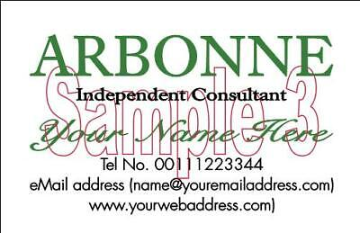 BUSINESS CARDS 50 Mary Kay Scentsty Arbonne Forever Living Consultants 4