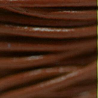 Lederriemen,Lederband Rund 1,5mm bis 3,mm Echtes Leder Verschiedene Farbe 12