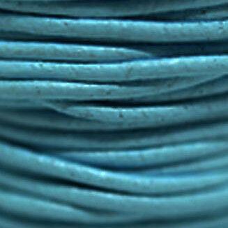 Lederriemen,Lederband Rund 1,5mm bis 3,mm Echtes Leder Verschiedene Farbe 4