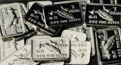 International Male//Female Symbol New 1 gm Whason Mint .999 silver bar