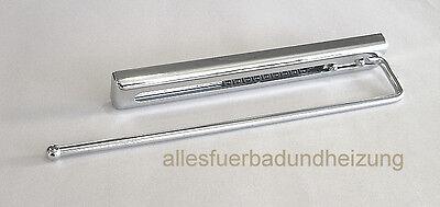HANDTUCHHALTER 1-ARMIG 31 cm chrom ausziehbar für Badmöbel ...