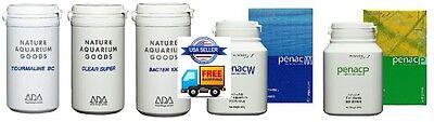 ADA 5 Fertilizer Penac P+Penac W+Tourmaline BC+Clear Super+Bacter 100 Plant Tank 2