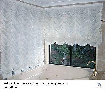 Austrian Festoon Blinds Curtains Roman Blinds Voile