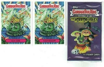 2019 Garbage Pail Kids Revenge Of Oh The Horror-Ible 200 Card Set + Free Wrapper 2