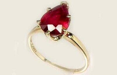 """19thC Antique 3ct Ruby Ancient Hebrew Israel Biblical """"Lord of Gems"""" Amulet 14kt 4"""