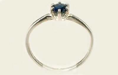 19thC Antique ½ct Sapphire Gemstone of Ancient Greece Cronus God of Agriculture 3