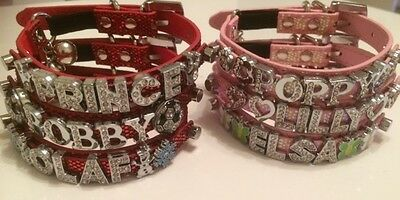 PERSONALISED Cat/Kitten Collar. With SAFETY ELASTIC and RHINESTONE BLING BUCKLE 10