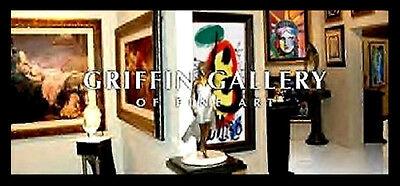 Erte Firmado Bronce Escultura Astra Original Romain de Tirtoff Arte Traje Diseño 3