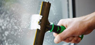Unger ErgoTec Ninja Set 2 35 cm Glasreinigung Einwascher Fensterwischer + QB120 5