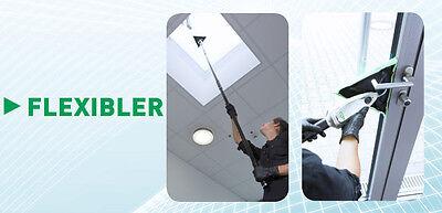Unger Stingray Glas Innenreinigungs-Set 450 PREMIUM 4,37m Glasreinigung + Tasche 8