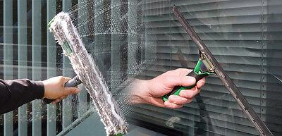 Unger ErgoTec Ninja Set 45 cm Glasreinigung Schaber Einwascher Fensterwischer 6