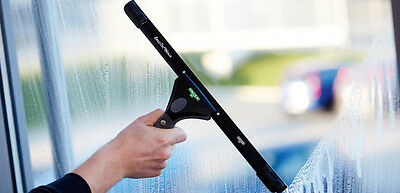 Unger NE15H S-Schiene mit Gummi hart / hard 15 cm Fensterwischer Fensterabzieher 2