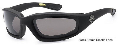 3 PAIRS Choppers Padded Foam Wind Resistant Sunglasses Motorcycle Riding Glasses