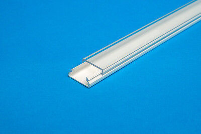 Ab 1,90 €/M 2M LED Profil u Abdeckung Leiste Schiene f. LED Band Streifen Stripe 6